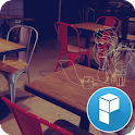 Lonely cafe Launcher Theme icon