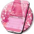 Pink Keyboard Rose Theme icon