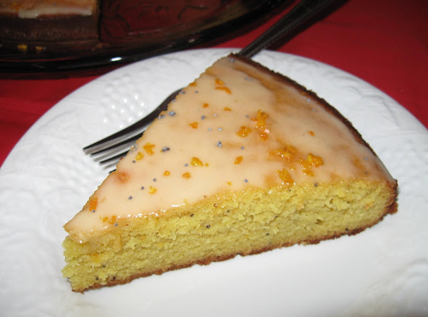 Orange Almond & Poppy Seed Cake, Millie's Recipe