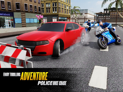 US Police Bike Chase 2020 3.7 screenshots 8