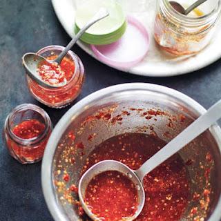 Chile Garlic Sauce.