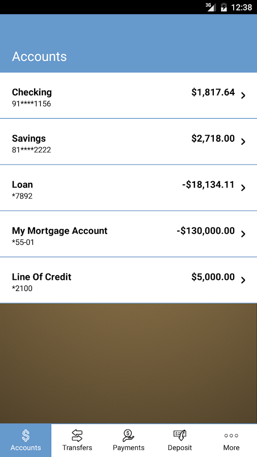 Sierra Central Mobile Banking- screenshot