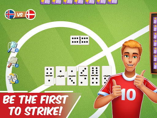 Dominoes Striker: Play Domino with a Soccer blend 2 screenshots 18