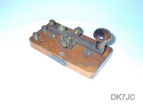 "Photo: West London Scientific Apparatus Morse Code Patt-632  ca.1890   ""G""  #169"