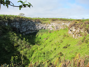 "Photo: Sinkhole (one of ""los Gemelos"")"