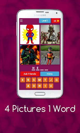 4 Pics 1 Word - Puzzle Game 3.11.5zg screenshots 1