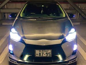 アクア NHP10 Sグレードのカスタム事例画像 Yuuki ROWENさんの2020年10月10日06:55の投稿