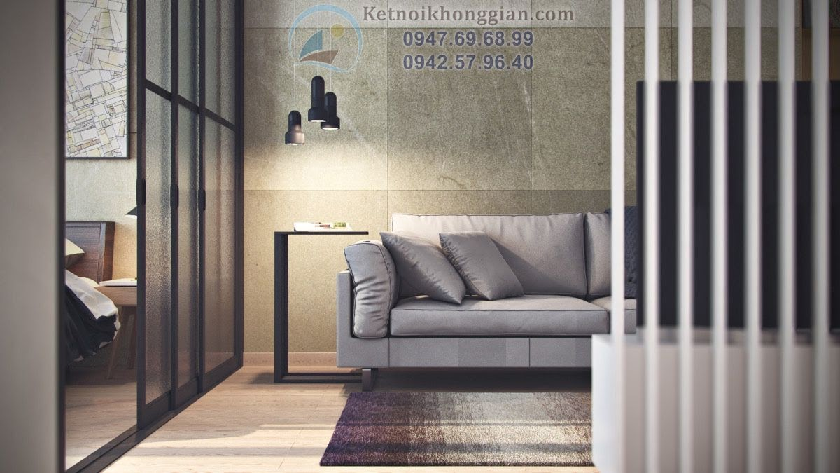 thiết kế căn hộ diện tích nhỏ siêu tiện ích