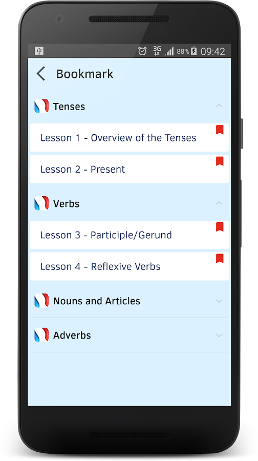 French Grammar in Use- screenshot