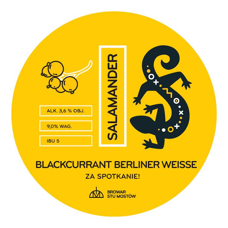 Logo of Salamander Blackcurrant Berliner Weisse