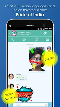 JioChat: Free Video Call and SMS