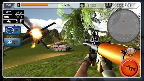 Bazooka Army Mobile Strike 2018 - náhled