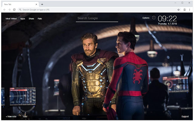 Spider Man Far From Home Wallpaper Hd New Tab Hd