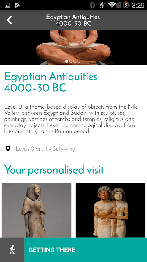 My Visit to the Louvre- screenshot