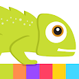 Chameleon Bounce By Best Cool & Fun Games icon
