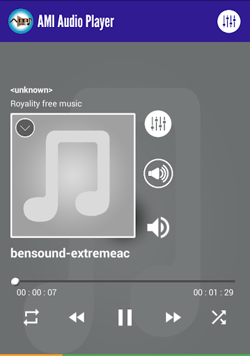 Equalizer Music Player by AMI