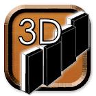 Domino 3D icon