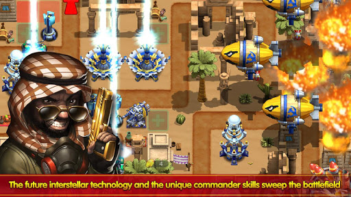 how to play war commander on android