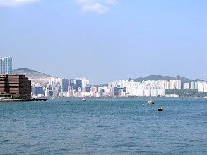 Photo: Hong Kong Island - view across the Victoria Harbour