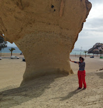 Photo: Holding up an erosion