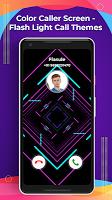 screenshot of Color Caller Screen - Flash Light Call Themes