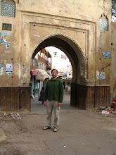 Photo: Entry gate to Sefou medina