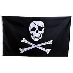 Piratflagga, 150x90cm