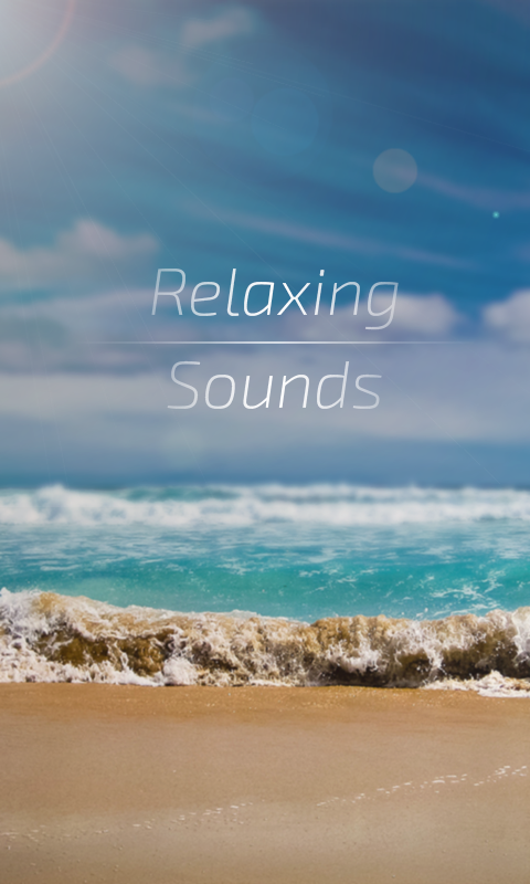 Relaxing Sounds- screenshot
