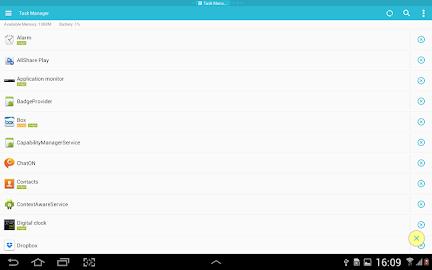 ES Task Manager (Task Killer ) Screenshot 2