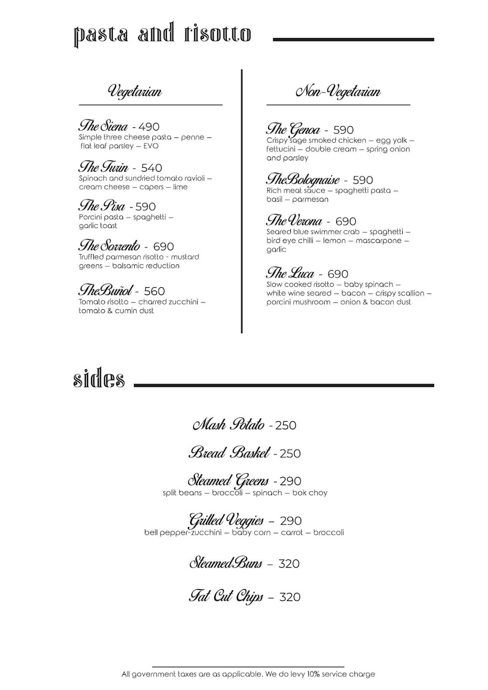 Rocky Star Cafe & Bar menu 1