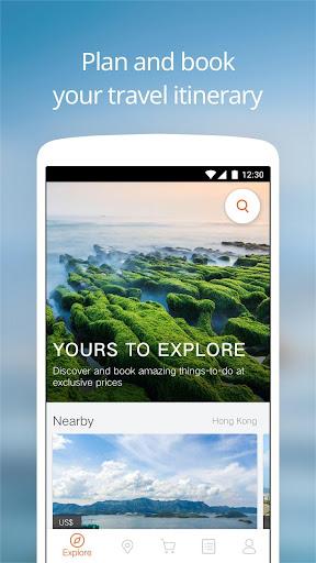 Klook: Sightseeing Tours, Activities & Experiences 4.5.4 screenshots 1