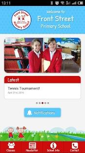 Front Street Primary School screenshot