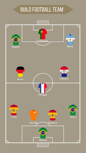 Football Squad Builder - Strategy, Tactic, Lineup 2.4.5 Screenshots 10