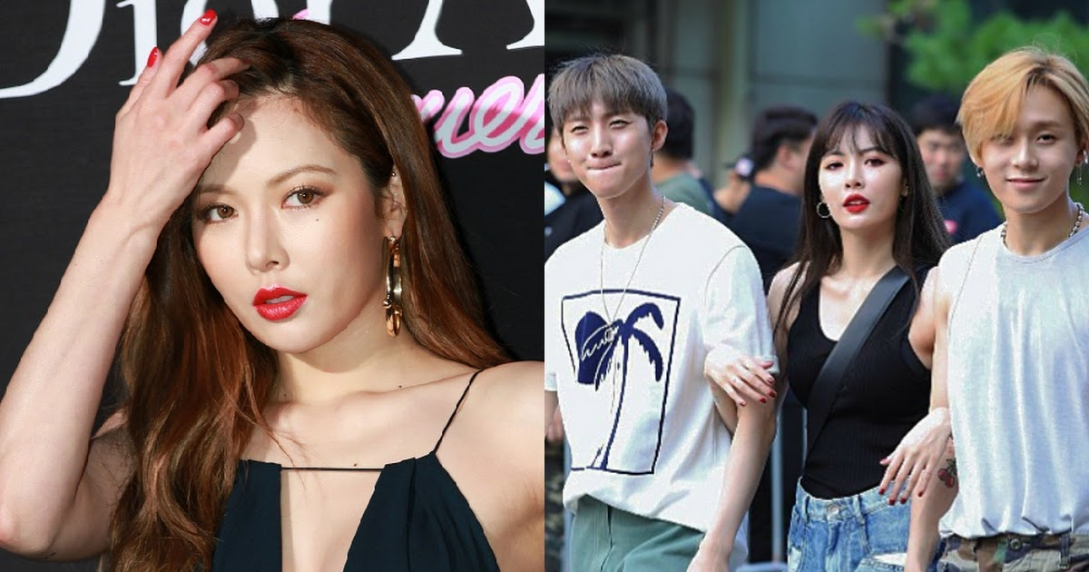Image result for HyunA Reportedly Dating Fellow Triple H Member E'Dawn