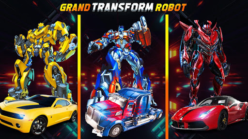 Grand Robot Car Transform 3D Game  screenshots 2