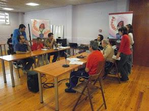 Photo: Grabación de uno de los programas de Bandidos