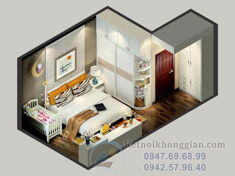 thiết kế phòng ngủ hiện đại 1