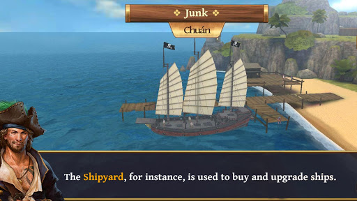 Ships of Battle - Age of Pirates - Warship Battle  screenshots 6