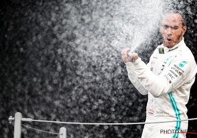 Lewis Hamilton heeft de GP van Mexico gewonnen