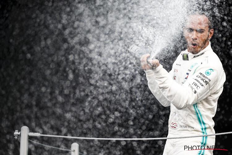"""Hamilton: """"Er is meer in het leven dat het record van Schumacher te verbreken"""""""