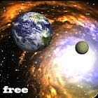 галактика живые обои 3d icon