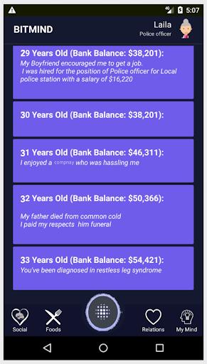Life Simulator - Social Networking: BiTMiND cheat screenshots 1