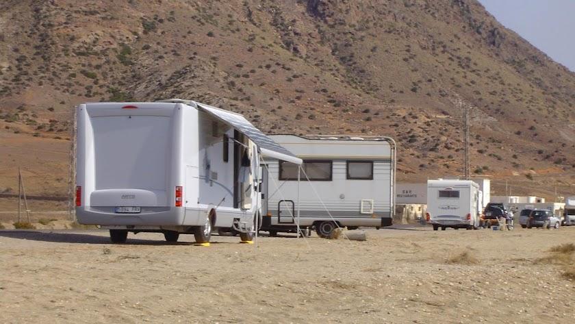 Las caravanas y las \'camper\' deben pernoctar en lugares habilitados.
