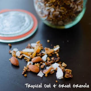 Tropical Oat & Groat Granola.