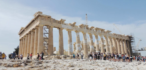 parthenon-side-view.jpg - A side view of the Parthenon on the Acropolis in Athens.