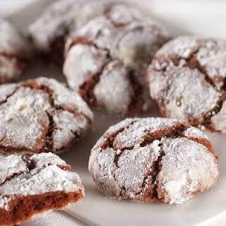 Chocolate Crinkle Top Cookies.