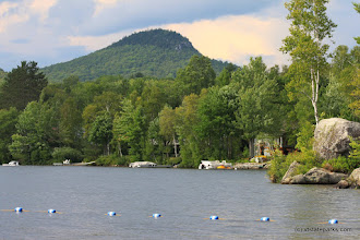 Photo: Lake Groton and Owl's Head from Boulder Beach State Park by Lene Gary
