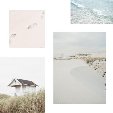 Sandy Beach Collage - Instagram Post Template