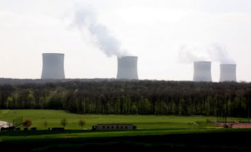 Photo: Day 21- Power Plant near Cattenom