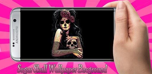 Tải Sugar Skull Wallpaper 8K cho máy tính PC Windows phiên
